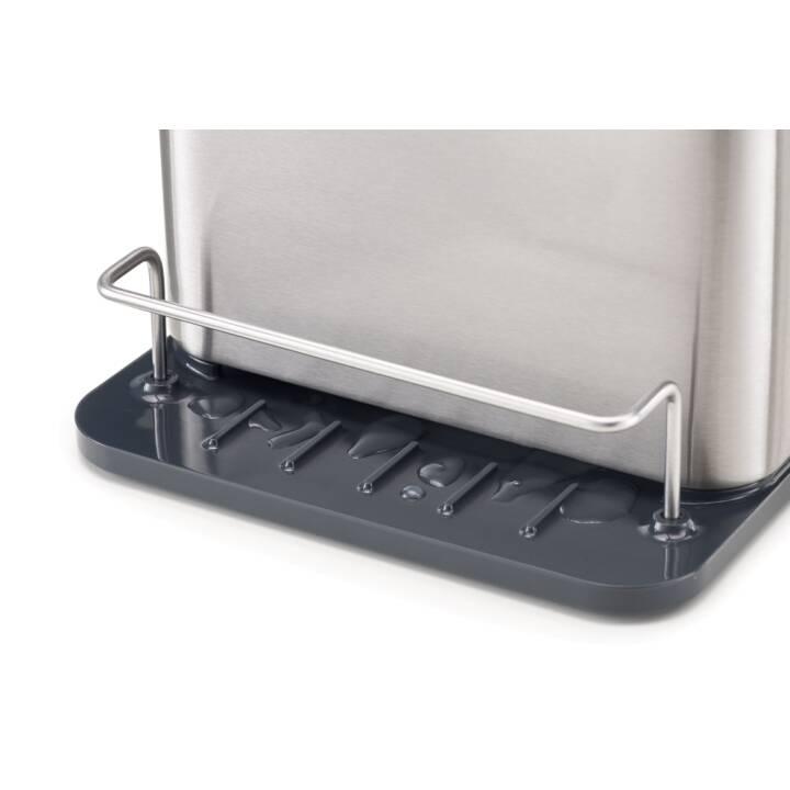 JOSEPH JOSEPH Tidy Porte-outils d'évier (Argent, Anthracite)