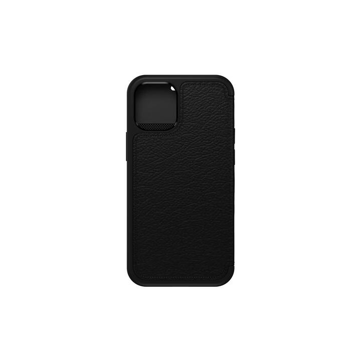 OTTERBOX Flipcover Strada (iPhone 12 Mini, Nero)