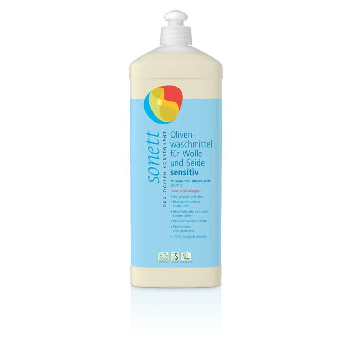 SONETT Entretien des textiles Sensitiv (1000 ml, Liquide)