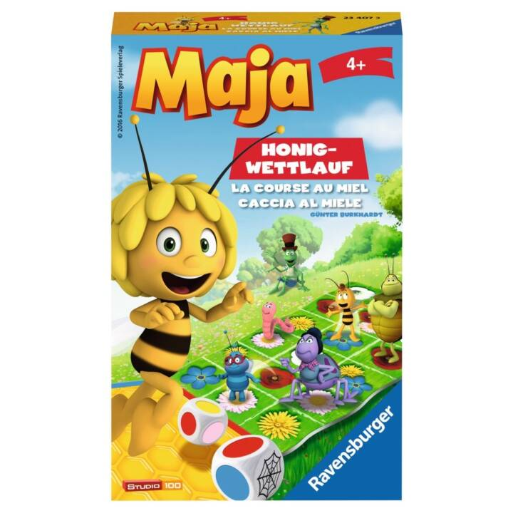 Biene Maja Honig-Wettlauf d/f/i, ab 4 Ja