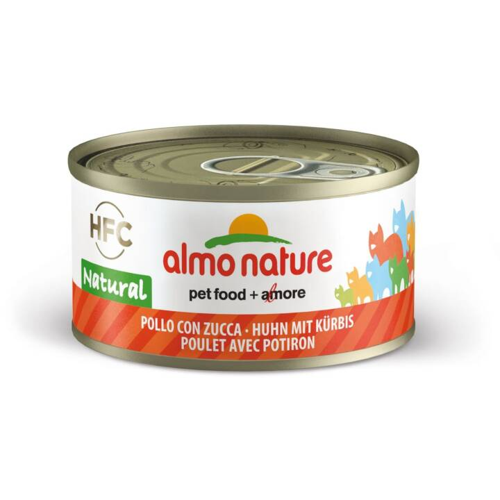 ALMO NATURE HFC Natural (Senior, Adult, 70 g, Huhn, Kürbis)