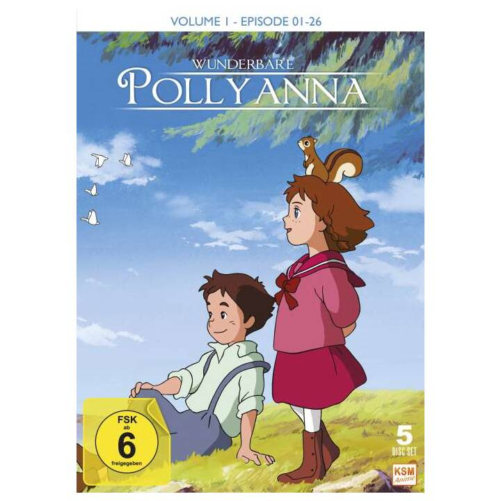 Wunderbare Pollyanna - Volume 1 - Episode 01-26 (DE)