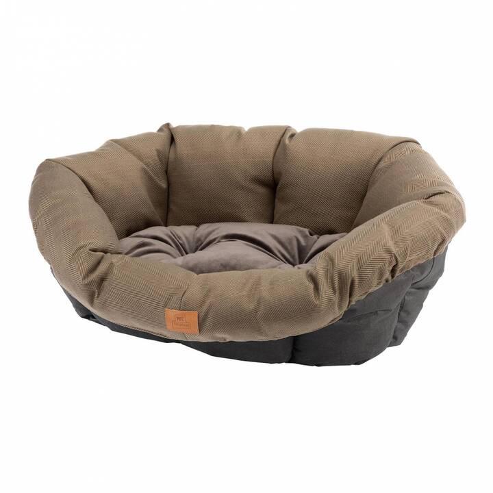 FERPLAST Lits et corbeilles Cushion 6 Tweed (Brun)