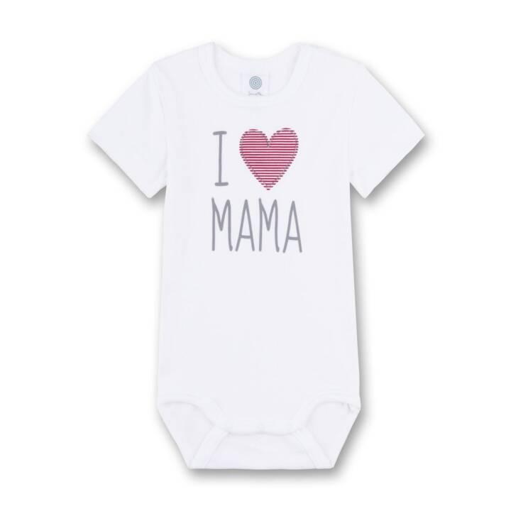 SANETTA Body I love Mama (68, Blanc)
