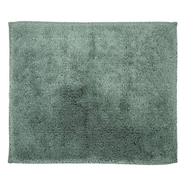 LIVIQUE Tapis de bain Diana (55 cm x 65 cm, Vert olive)