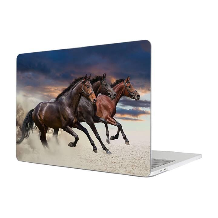 """EG MTT Housse pour Macbook Air 13"""" (2018) - cheval"""