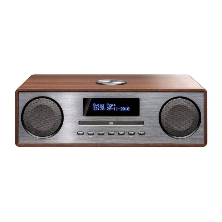 INTERTRONIC MS365 (Marrone, Grigio, Bluetooth, CD, Lettore esterno, USB-Stick, Radio)