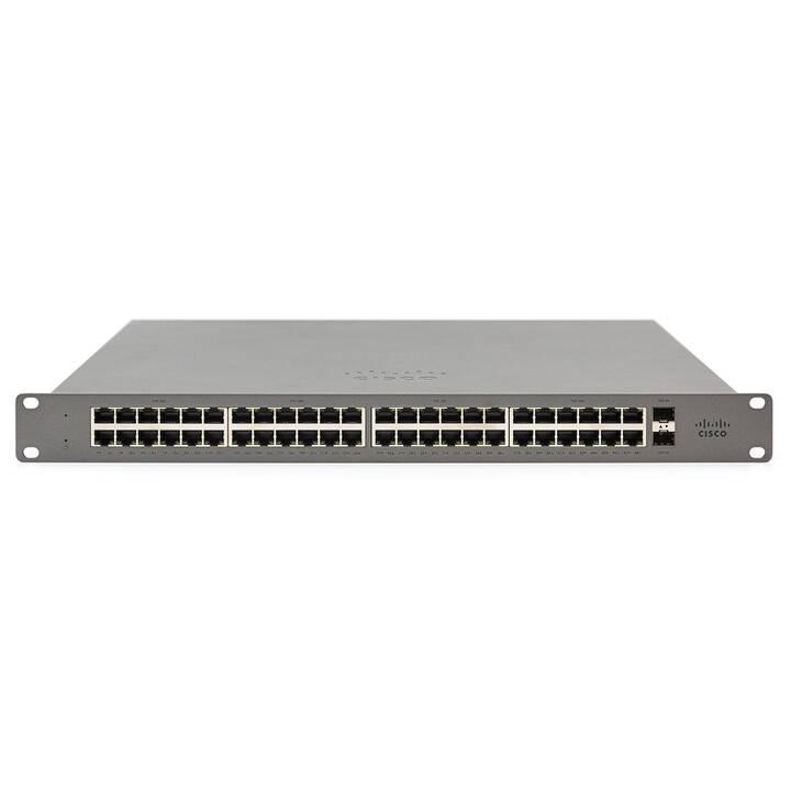 Meraki Go GS110-48P-HW Cloud managed Swi