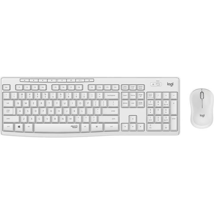 LOGITECH MK295 (Svizzera, USB, Senza fili)