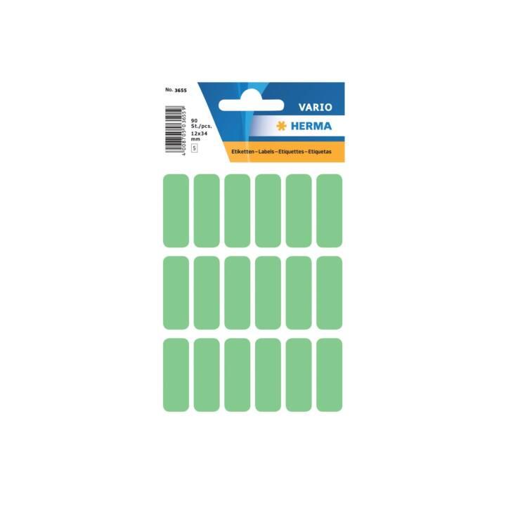 HERMA Etiketten (12 x 34 mm, 5 Blatt)