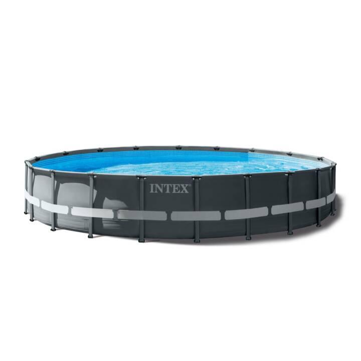 INTEX Piscina fuori terra con struttura tubolare in acciaio XTR