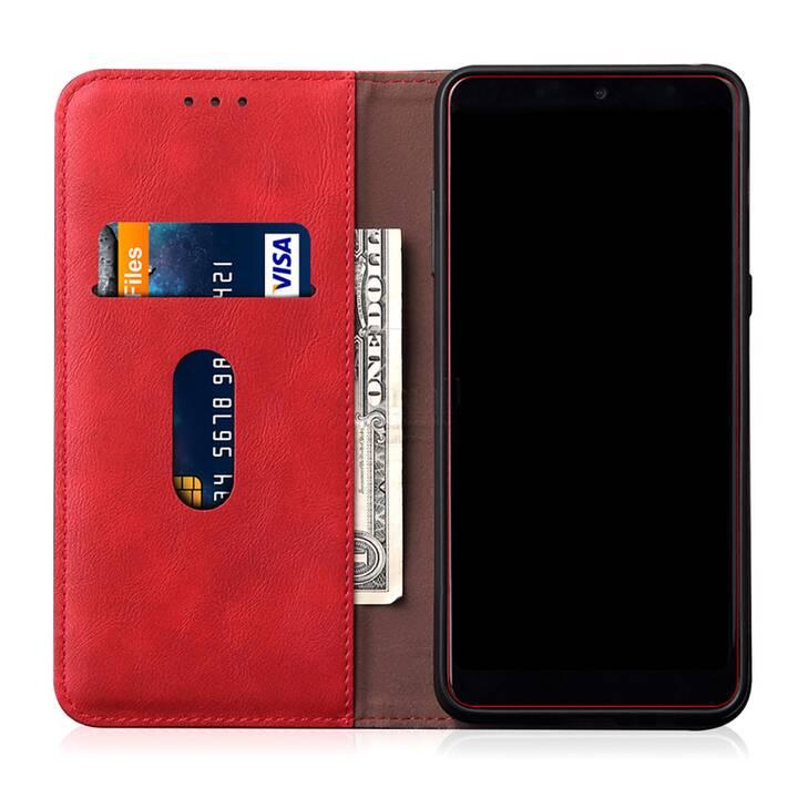 """EG Mornrise custodia a portafoglio per Samsung Galaxy S20 Ultra 6.9"""" 2020 - rossa"""