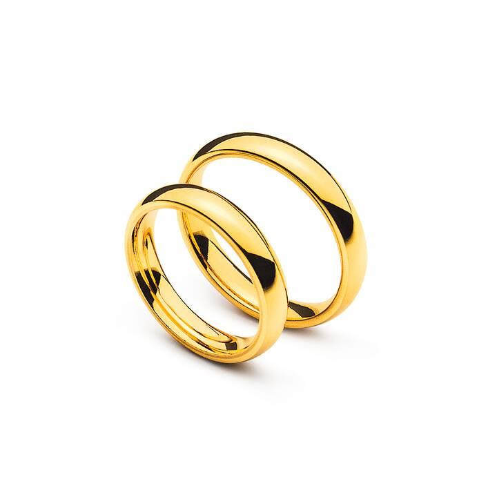 MUAU Comfort Fit Matrimonio band (70, Oro giallo)