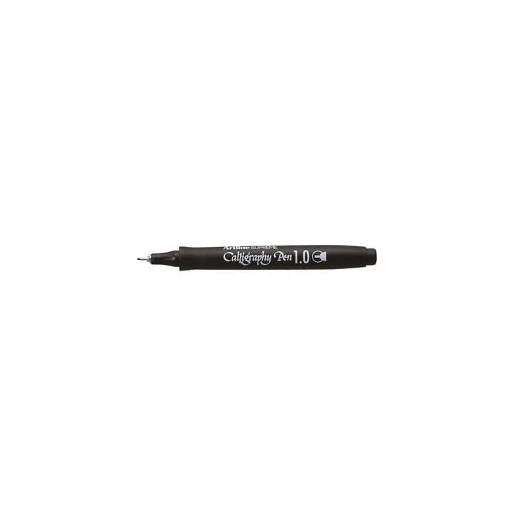 ARTLINE Supreme Calligraphy Penna a fibra (Nero, 1 pezzo)