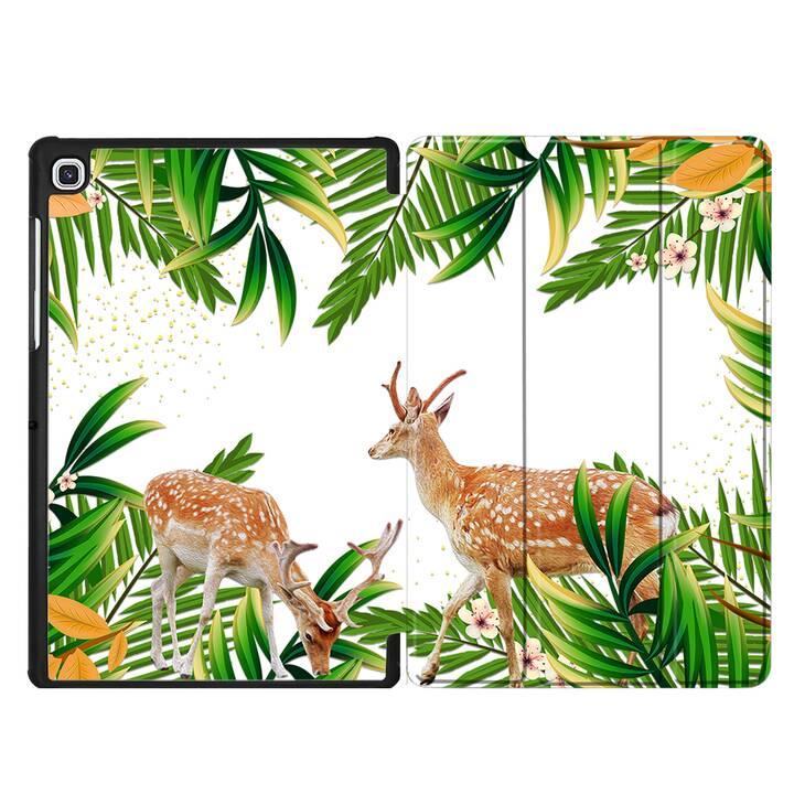 "EG MTT Custodia per Samsung Galaxy Tab S5e 10.5"" 2019 - animali"