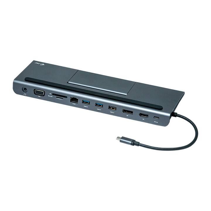 I-TEC Stations d'accueil (HDMI, VGA, Port écran, 2 x USB 2.0, 2 x USB 3.0, RJ-45 (LAN))