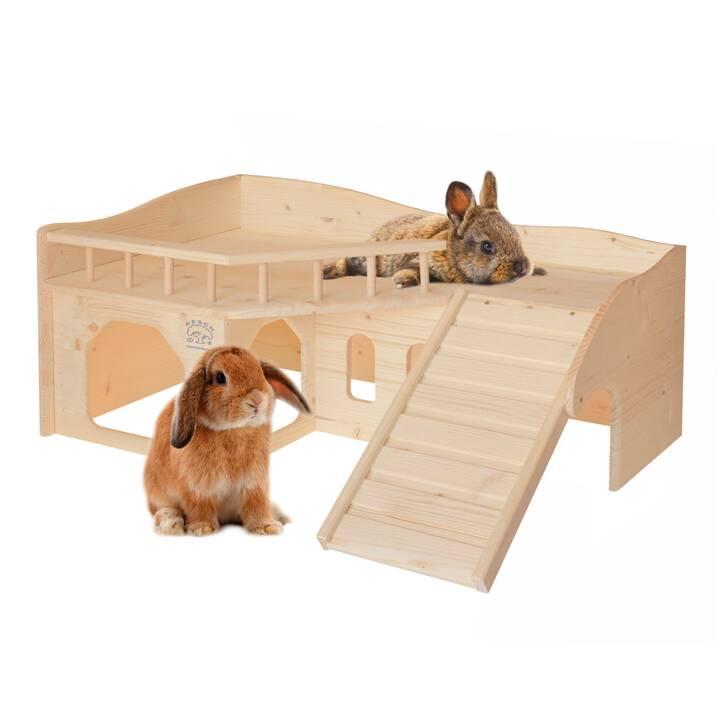 RESCH Casa (Porcellino d'India , Coniglio , 65 cm x 50 cm x 28.5 cm)