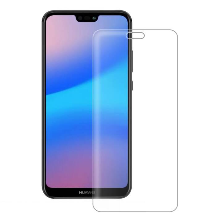 EIGER Displayschutzglas Huawei P20 Lite (Kristallklar)