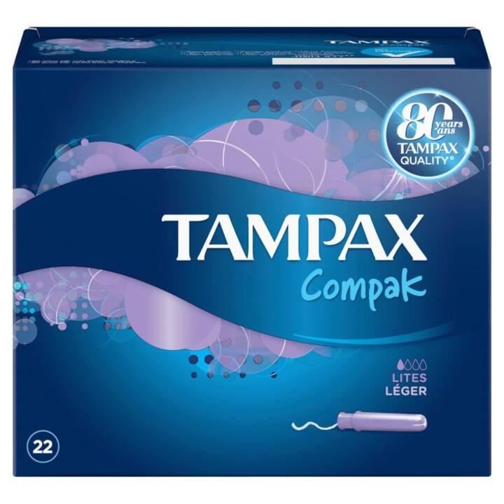 TAMPAX Compak Assorbente interno (22 pezzo, Mini)