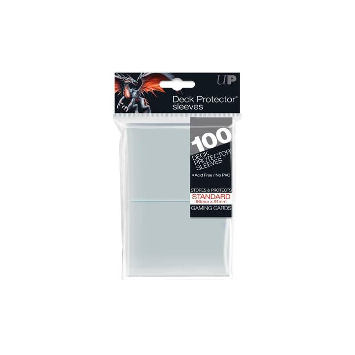 ULTRA PRO Clear Standard Deck Protector Porta biglietti (Grigio, 100 pezzo)