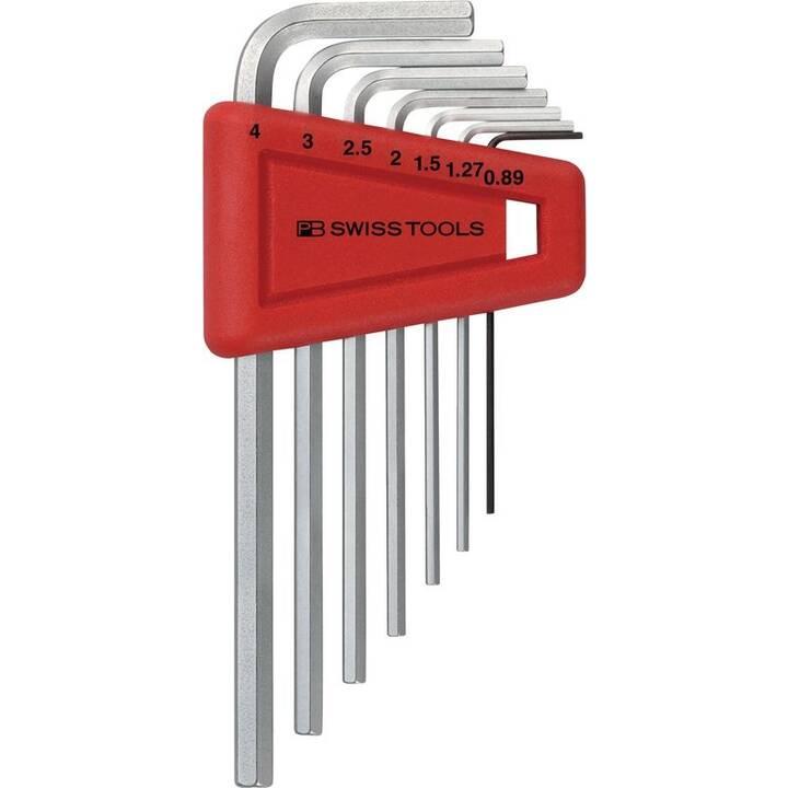 PB SWISS TOOLS Stiftschlüsselsätze PB 210 H-4 (Innensechskant HX)