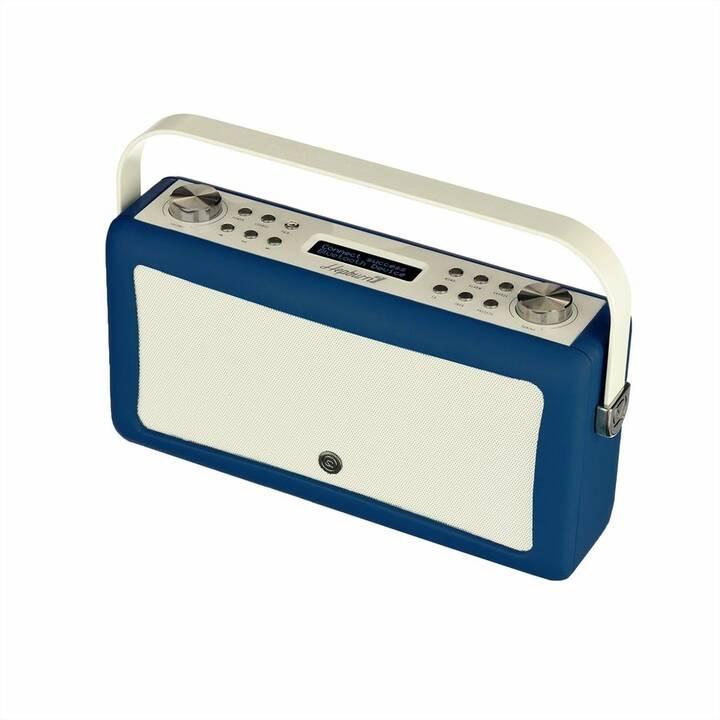 VIEW_QUEST Hepburn MkII Radio per cucina / -bagno (Navy Blue)