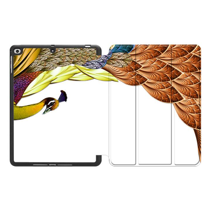 """EG MTT Hülle für Apple iPad 10.2"""" 2019 - Peacock"""