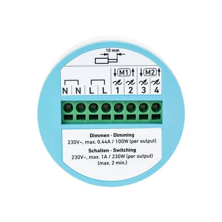 DINGZ DZ1B-4CH + DZ1F-PIR-DG Interruttore della parete (Senza fili)