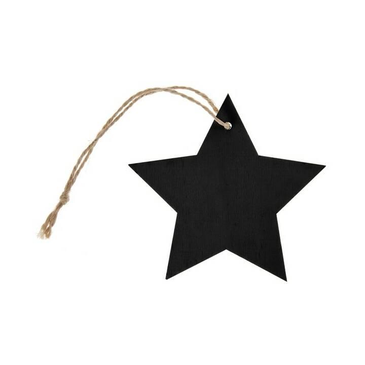 SANTEX Namensschild Stern (1 Stück)