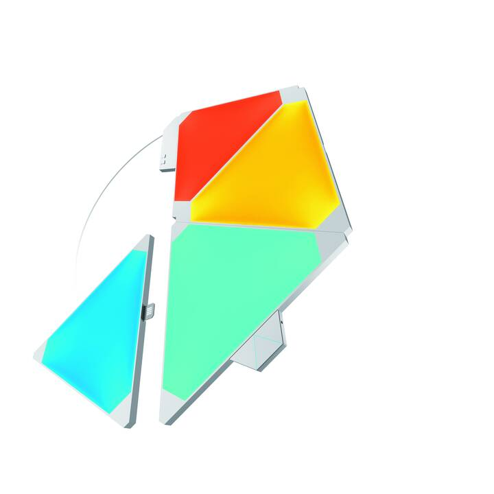NANOLEAF Luce d'atmosfera LED Smarter 4P Rhythm (Bianco, 60 W)