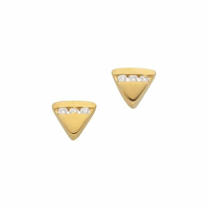 MUAU Orecchini a perno (Diamante, 5 mm)