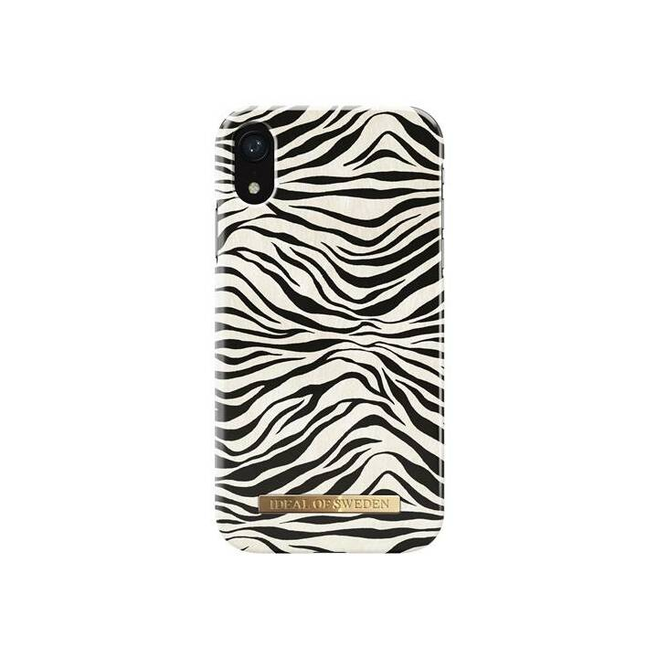 IDEAL OF SWEDEN Backcover Zafari Zebra (iPhone XR, Schwarz, Weiss)
