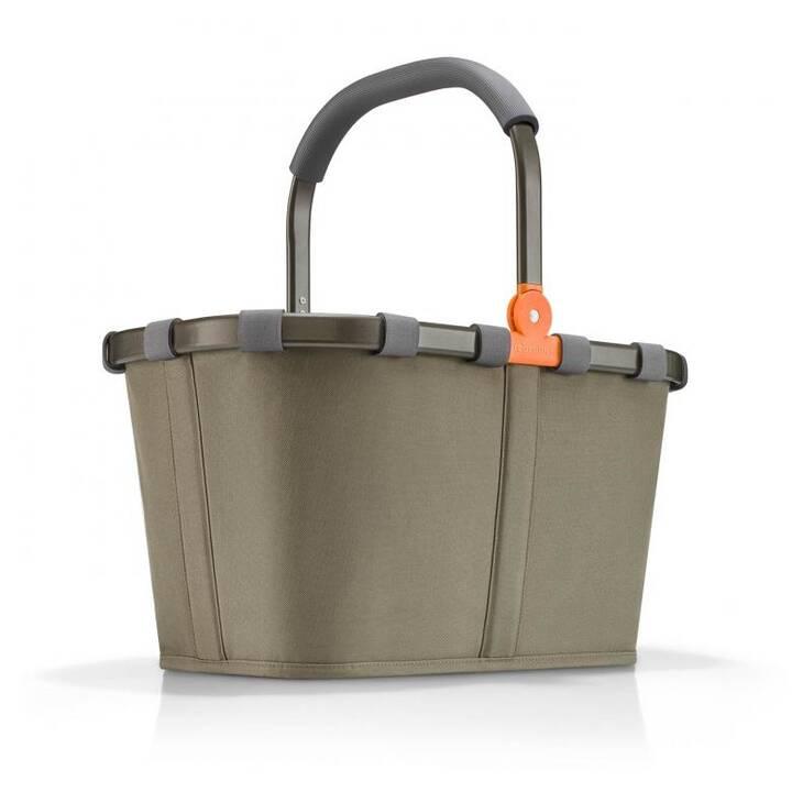 REISENTHEL Trolley per la spesa Carrybag (22 l, Verde oliva)
