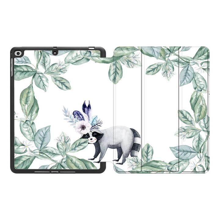"""EG MTT Coque pour Apple iPad Air 3 2019 10.5"""" - Fleurs"""