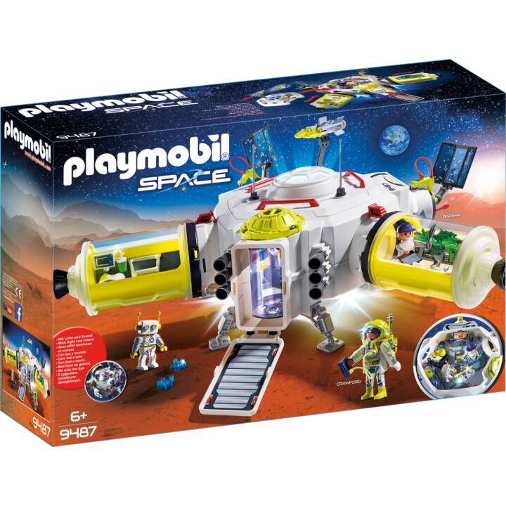 PLAYMOBIL Space Mars-Station (9487)