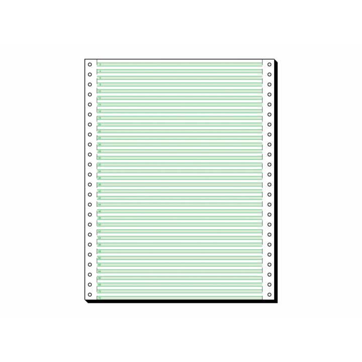 Papier informatique SIGEL, 2000 feuilles, 305x240mm, 60g