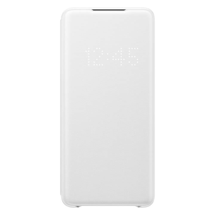 SAMSUNG Flipcover LED Book (Galaxy S20+, Bianco)
