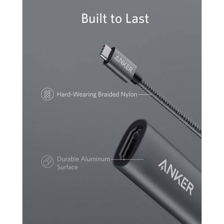 ANKER 8-IN-1 USB C Adapter (1 Ports, HDMI)