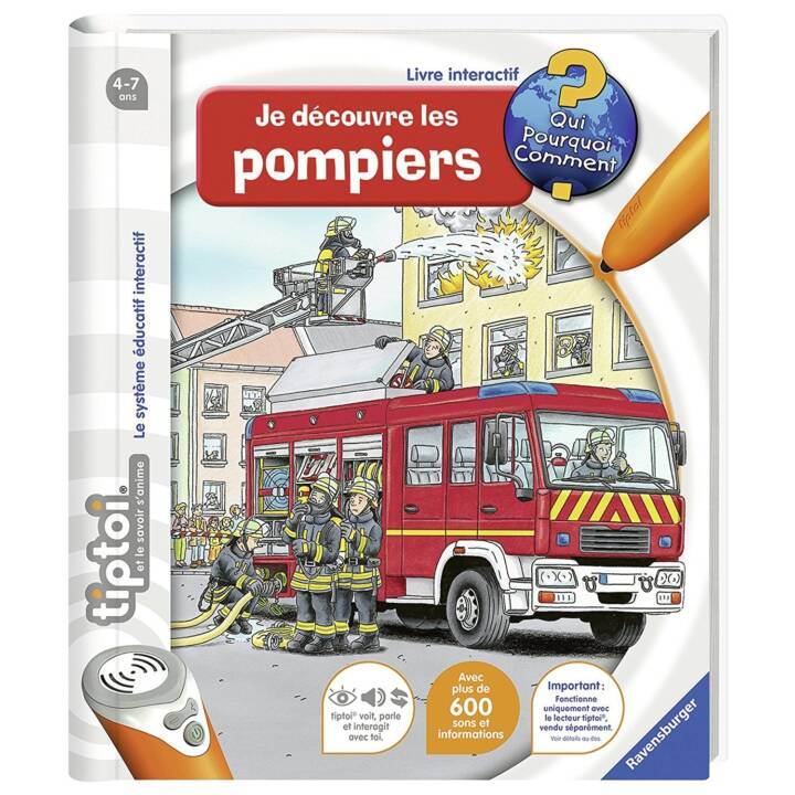 RAVENSBURGER Je découvre les pompiers