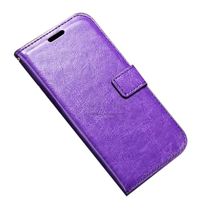 EG Mornrise Custodia a portafoglio per Huawei Honor 10 Lite - Viola