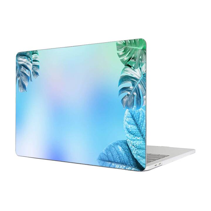 """EG Housse pour Macbook Pro 16"""" Touchbar (2019) - Leaves"""