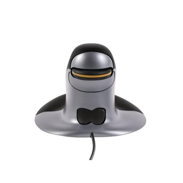 Sfiorisce il pinguino del mouse ergonomico L