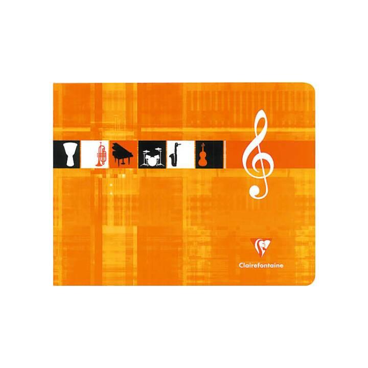 CLAIREFONTAINE Musikheft Italian 22x17cm