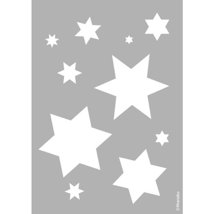 Marabu Schablone Starlets A4