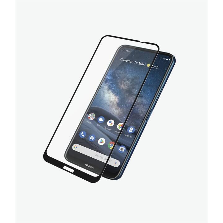 PANZERGLASS Vetro protettivo da schermo Case Friendly Black (Chiara, Nokia 8.3)