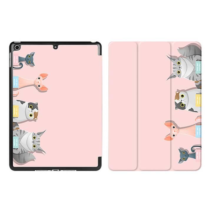 "EG iPad Sleeve pour Apple iPad 9.7"" 9.7"" 9.7"" - pink cartoon cats"