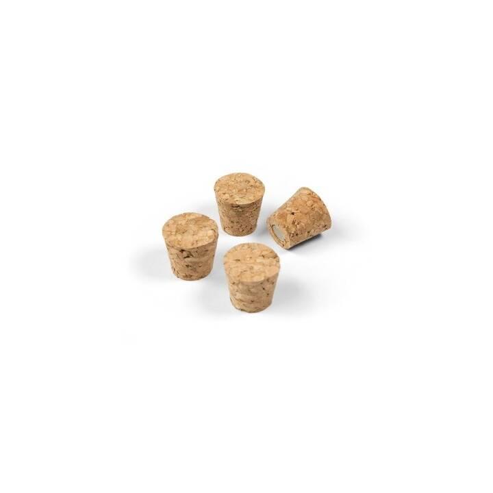 TRENDFORM Magnete Cork 4er-Set braun