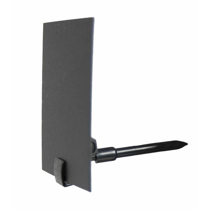 SECURIT Porta etichetta (Nero, 20 pezzo)
