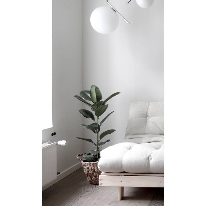 KARUP DESIGN Roots 90 Canapé-lit (Polyester, Vert menthe, 90 cm x 105 cm)