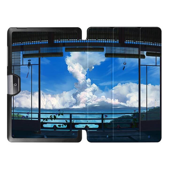 """EG MTT Sacoche à comprimés avec couvercle rabattable pour Acer Iconia Tab 10 10.1"""" - Sky"""